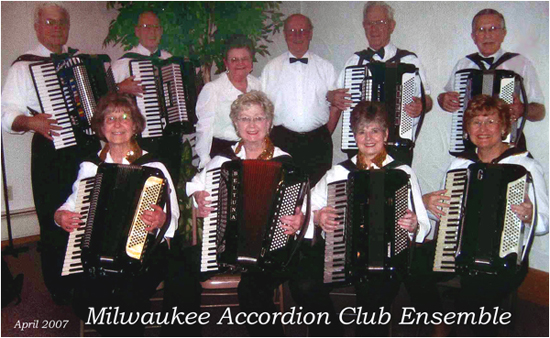 milwaukee accordion club ensemble